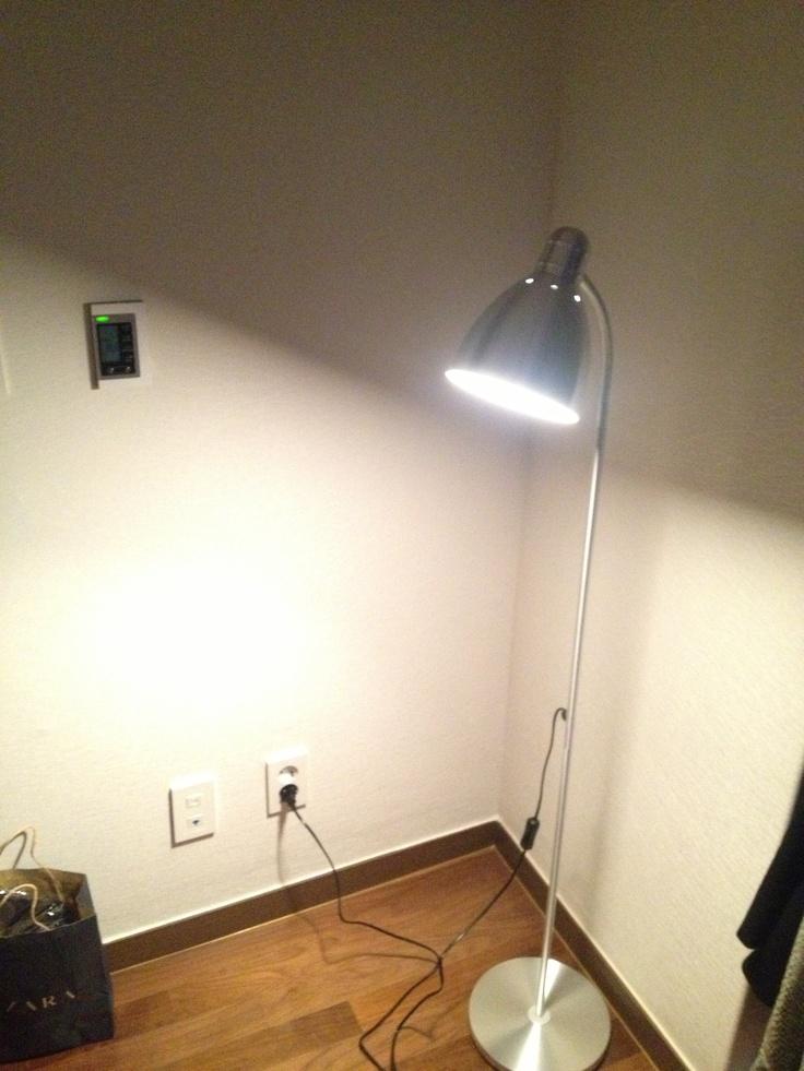 IKEA lersta floor lamp ;) Thx Dwight Architect.ure