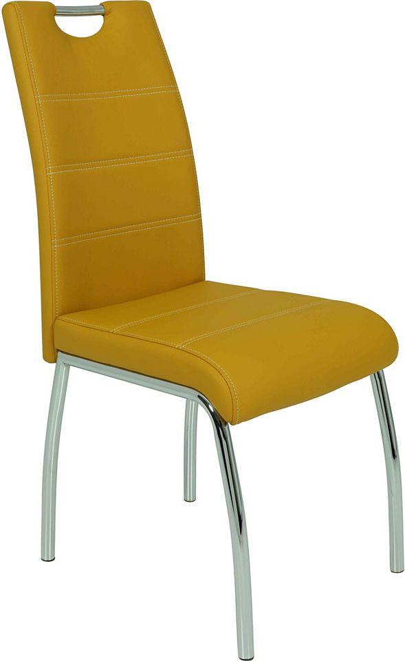 Stuhl (2 oder 4 Stück) Jetzt bestellen unter: https://moebel.ladendirekt.de/kueche-und-esszimmer/stuehle-und-hocker/freischwinger/?uid=91621c7f-18de-5c1d-920e-1ae77ef936ff&utm_source=pinterest&utm_medium=pin&utm_campaign=boards #freischwinger #stühle #kueche #esszimmer #hocker #stuehle