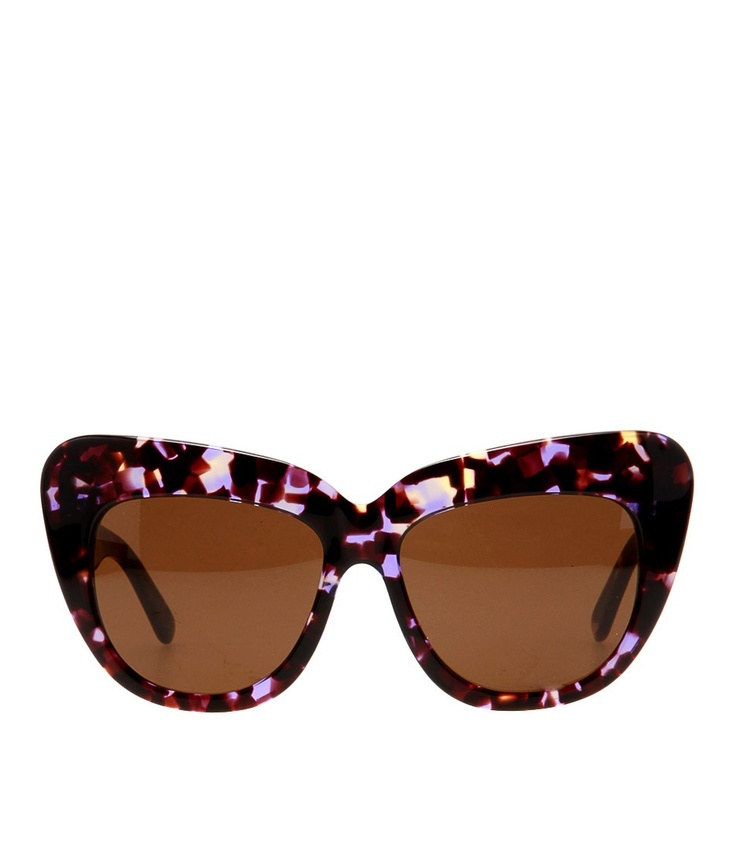 Chelsea Bloom Acetate Cateye from House of Harlow