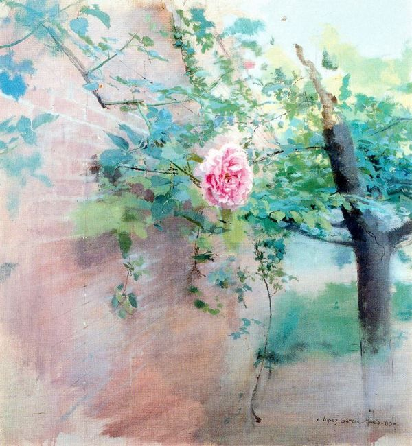 Image result for antonio lopez garcia pintura de flores