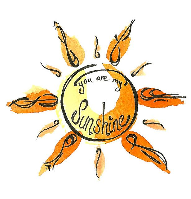 For kiley??   Sunshine Tattoo by lindsay satchell, via Flickr