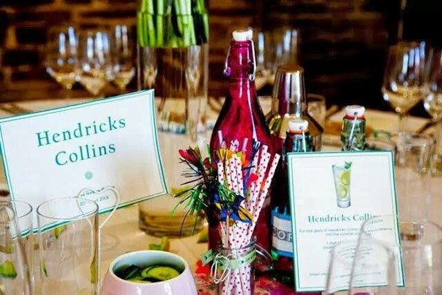 Cocktail Themed Table Plan Spring Wedding Ideas