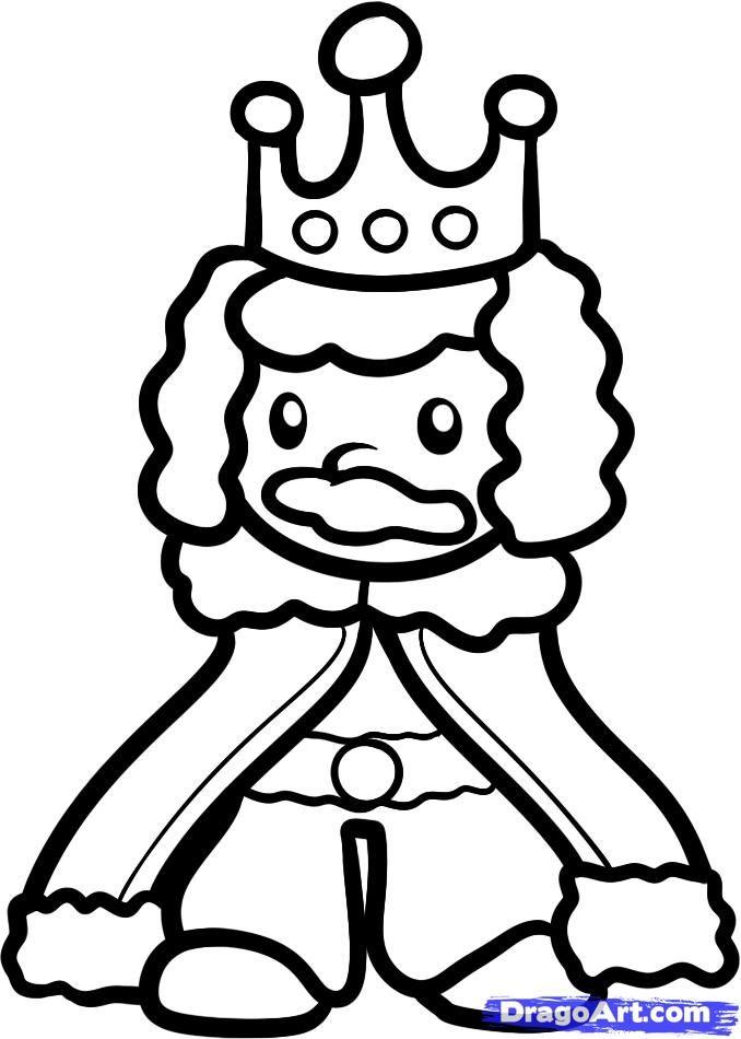 King http://www.dragoart.com/tuts/10953/1/1/how-to-draw-a