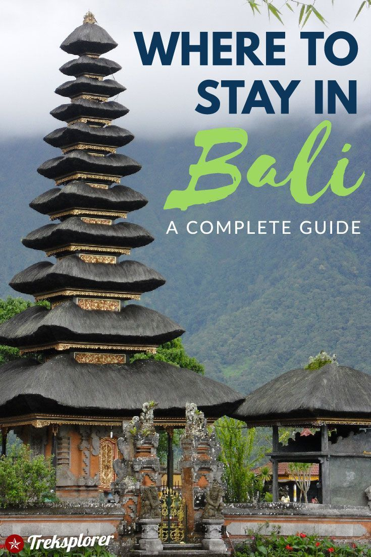 Where to Stay in Bali, Indonesia: The Best Hotels & Places to Stay