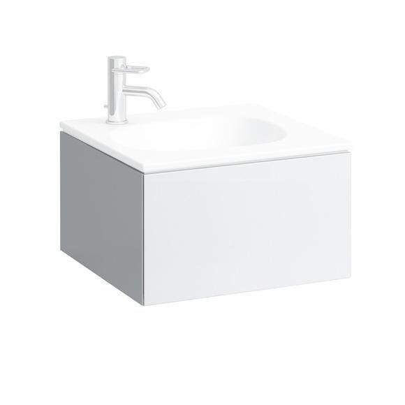 Laufen Palomba Handwaschbecken-Unterbau, 1 Schublade weiß