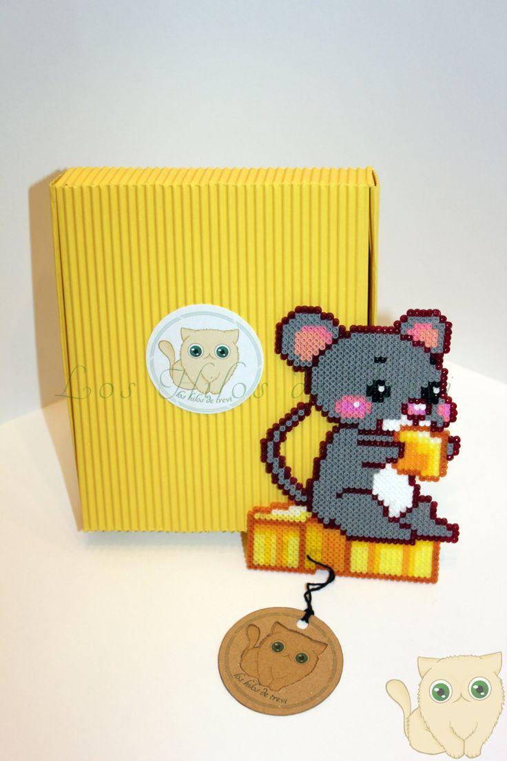 Mouse Hama Beads by LosHilosdeTrevi