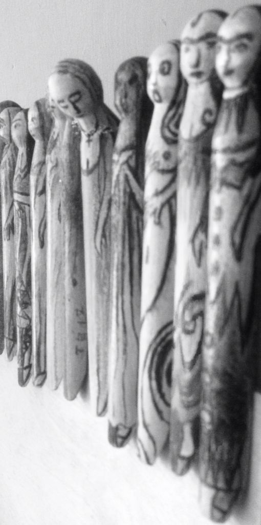 Waiting, Wakefield Artist Tim Burton.