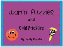Warm Fuzzies and Cold Pricklies to teach manners and kindness.