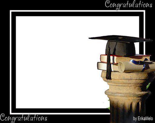 Marcos de graduación para fotos gratis - Imagui
