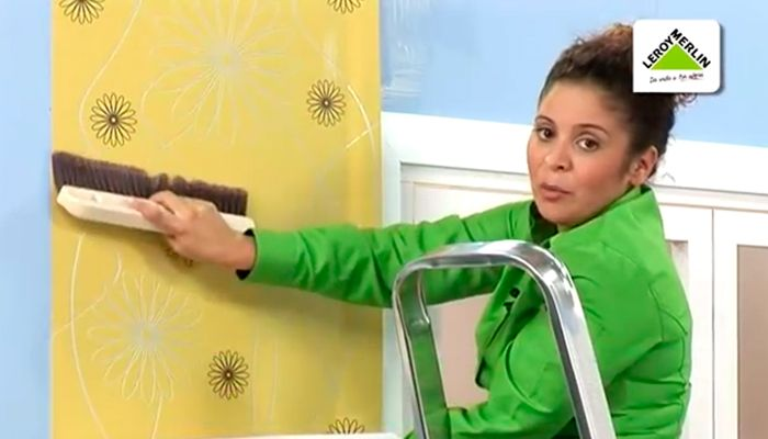 Cómo empapelar paredes