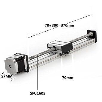 Konmison 300mm Travel Length Linear Stage Actuator DIY CNC Router Parts X Y Z…