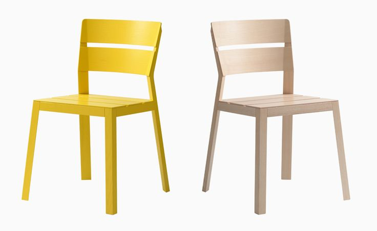 Satsuma Chair by läufer + keichel. (References fruit boxes)