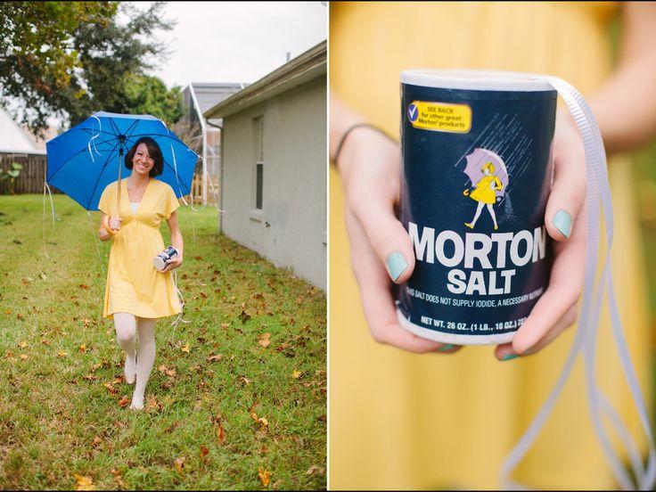 diy halloween costume morton salt girl