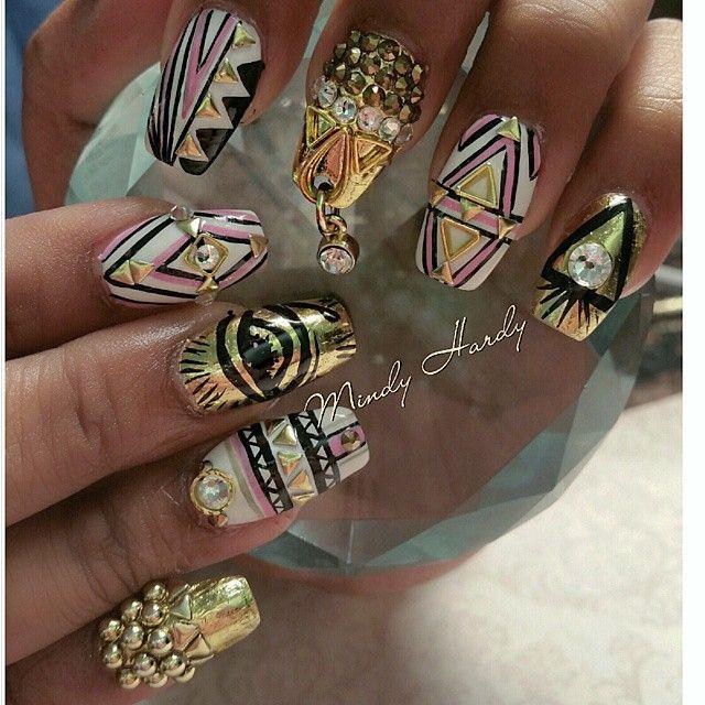 Pinterest: ♛ diamnnd ♛ · Egyptian GoddessCoco NailsArylic ... - Best 25+ Egyptian Nails Ideas On Pinterest Matt Nails, Black