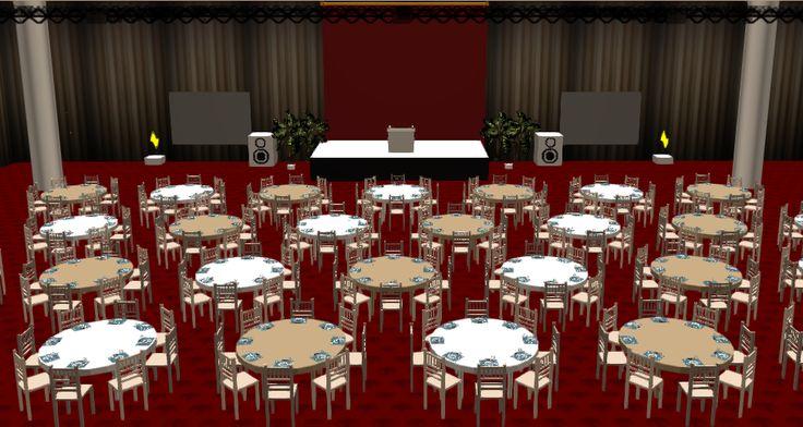 10 best Social Tables 3D Diagrams! images on Pinterest Event