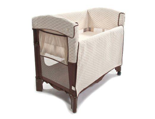 Amazon.com: Arm's Reach Concepts Mini Convertible Arc Co-Sleeper Bedside Bassinet, Cocoa/Natural: Baby