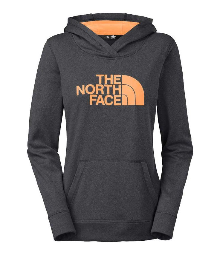 The North Face Fave Pullover Hoodie for Women in Asphalt Grey Heather
