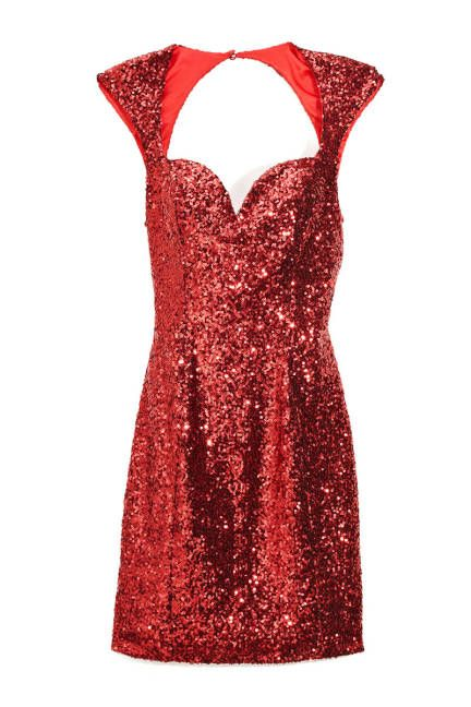 78  ideas about Red Sequin Dress on Pinterest  Christmas fashion ...