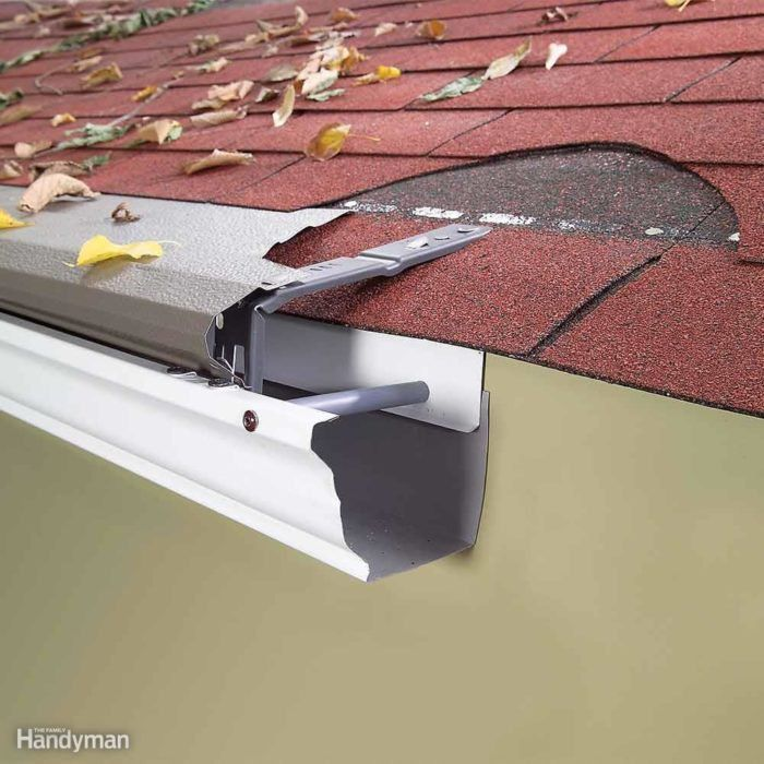 25 Hints For Fixing Roof And Gutter Issues Gutters Gutter Repair How To Install Gutters
