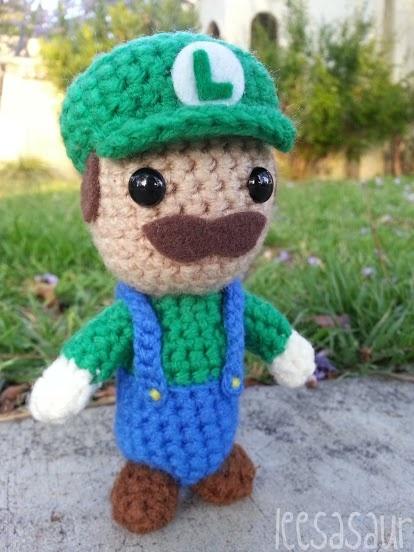 Amigurumi Mario Y Luigi : 88 best images about amigurumi super mario on Pinterest ...