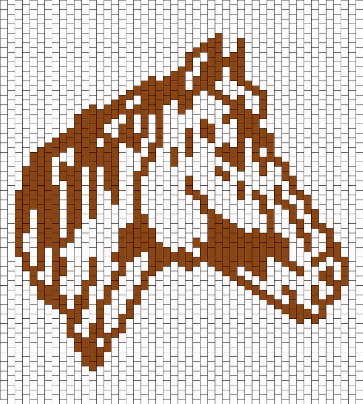 Horse Head bead pattern