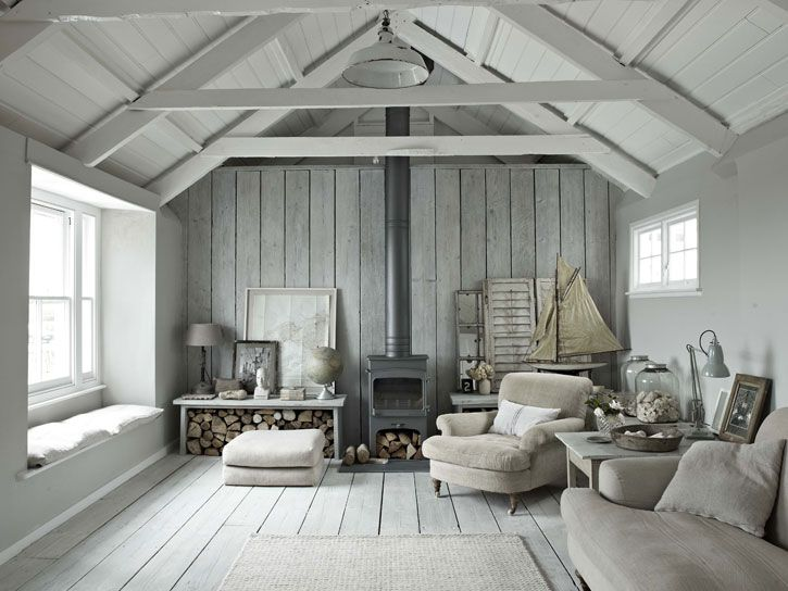 this stunning tone on tone interior is all about contrasting textures