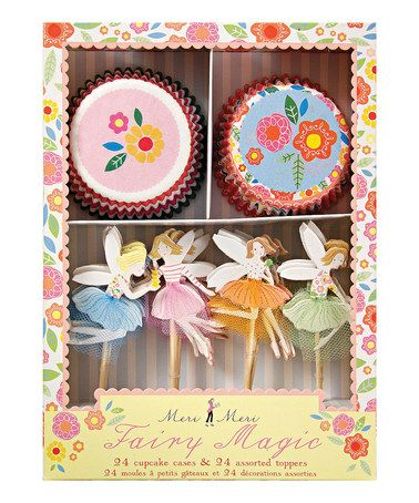 Take a look at this Fairy Magic Cupcake Kit by Meri Meri on #zulily today!: Magic Cupcake, Meri Fairy, Fairies, Cupcakekit, Fairy Cupcake, Custom Custom, Party Ideas