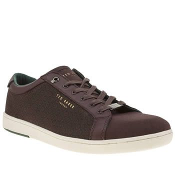 Ted Baker Burgundy Keeran 4 Mens Trainers Dashingly dapper, yet stylishly cool, the Ted Baker Keeran 4 gets a little update for the new season. Arriving in burgundy, this stylish trainer features printed fabric panels and leather overlays for http://www.MightGet.com/january-2017-13/ted-baker-burgundy-keeran-4-mens-trainers.asp