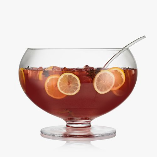 Cranberry Vodka Punch with Ginger Ale