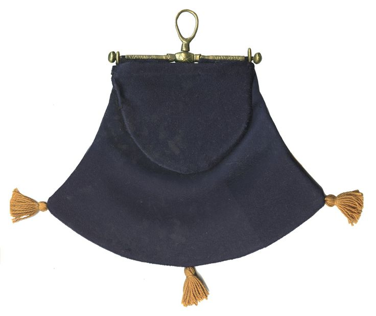 Purse using a medieval purse frame