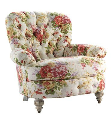 Highland House Furniture: 910 - BERYL TUFTED CHAIR Royal Manner: The English Country House  Royal Manner Upholstery  BERYL TUFTED CHAIR  910    W: 44 in    D: 41 in    H: 43 in    66 lb / 45 cft  W: 26 in D: 22 in H: 22 in (Inside)  H: 21 in (Seat)  Arm Height: 26 in