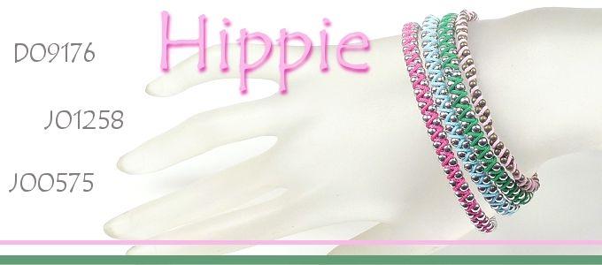 Projet de bijoux inspiration: Hippie bracelet