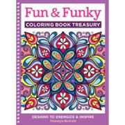 Design Originals Fun And Funky Adult Coloring Book