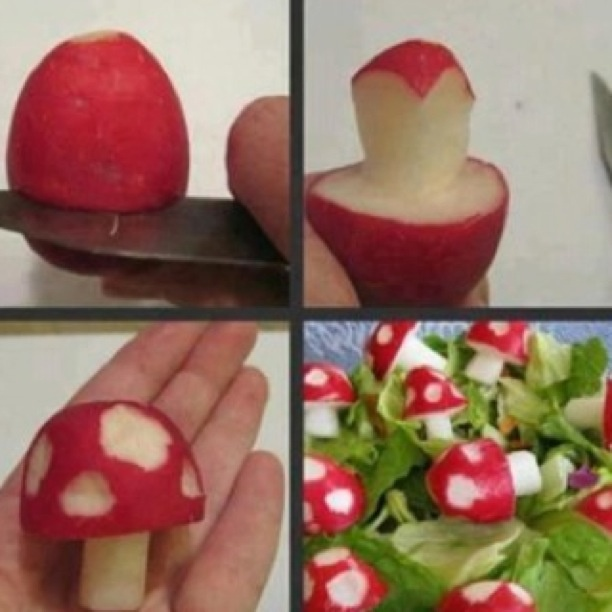 creative idea for salads