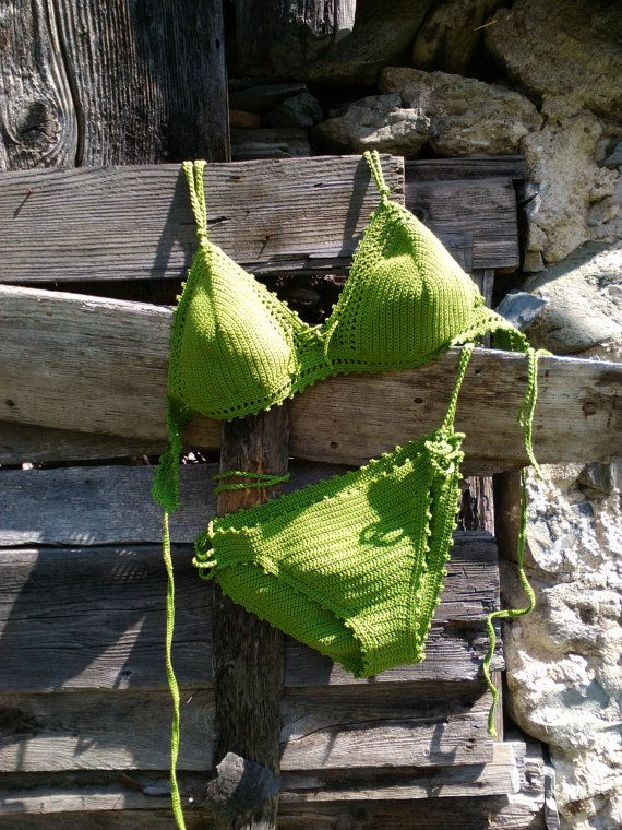 crochet bikini Green-Grass DD Cup - Crochet Vintage bikini Crochet Boho bikini Hippie bikini Triangle bikini String bikini  #Beachwear, #Bikini, #Crochet, #Swimwear  Womens 2017 Fashion #bikini #swimsuit #swimwear #beachwear #bikinitop #summertop #crochetbikini Ladies #handmadebikini #brazilianbikini #sexybikini #trianglebikini #crochetbathingsuit #crochetbikiniset #crochetswimwear China Crochet Bikini Swimwear Beachwear Bathing Suit|Set Factory/Manufacturer