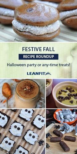 Have fun experimenting with rich flavors, spooky kid-friendly snacks and Autumn inspired smoothies (#PSL). With LeanFit protein, the possibilities for delicious nutrition are endless!
