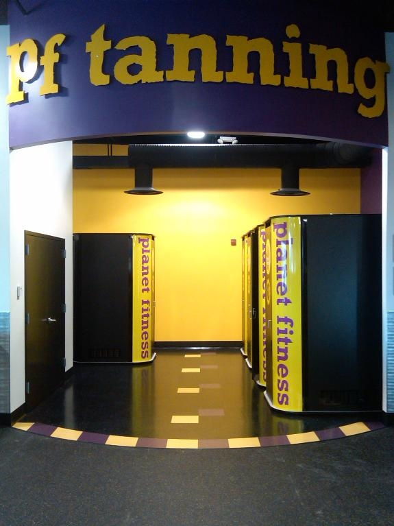 Stand Up Tanning Beds At Planet Fitness