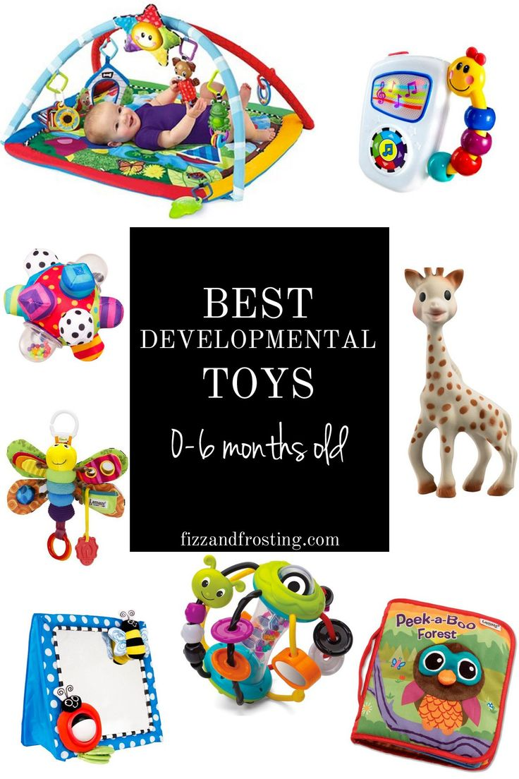 developmental toys for 0-6 months old | www.fizzandfrosting.com
