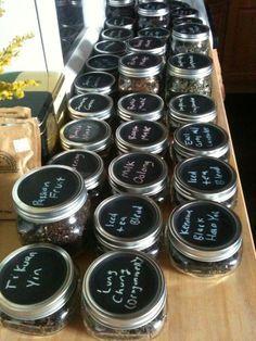 DIY: Tea Storage Jars