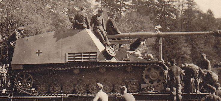 PB324 Montreuil Panzerjäger Nashorn Sd.Kfz.164 SFL Hornisse Bonton Brücke Panzer   eBay