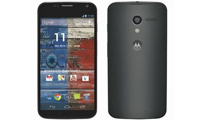 The new Motorola X phone.