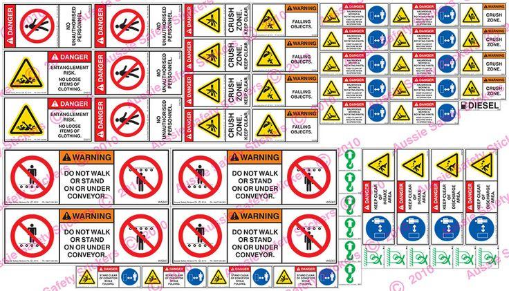 Conveyor System   Aussie Safety Stickers