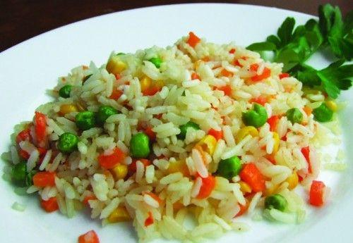 рис с овощами на гарнир