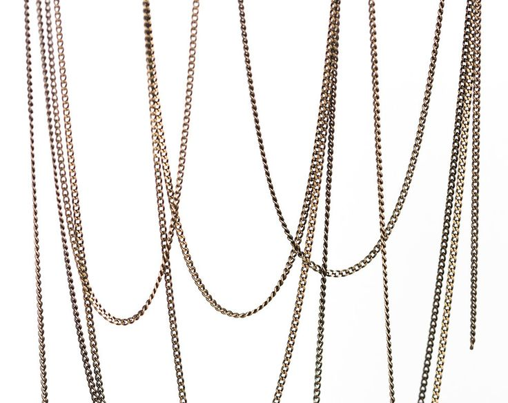 2408_Antique bronze chain 1.2 mm, Flat copper chain, Curb link chain, Jewelry thin chain, Oval link chain, Meter chain, Jewelry making_1 m. by PurrrMurrr on Etsy