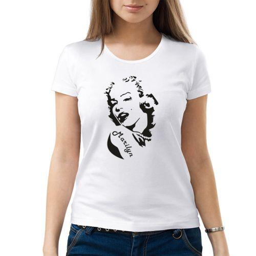Marilyn - Женская футболка от VseMayki.RU