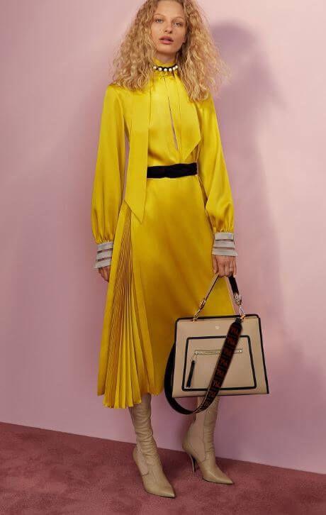 f25df79f19327 fendi elbise modelleri 2018 | Sonbahar | Moda kadın, Moda, Elbise ...
