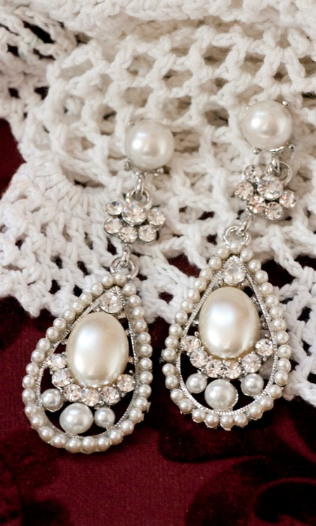 shabby apple, english lace earings $14