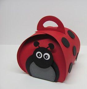 Curvy Keepsake Box and Ladybug punch art http://www.starzlstamps.com/2014/08/curvy-keepsake-box-ladybug.html