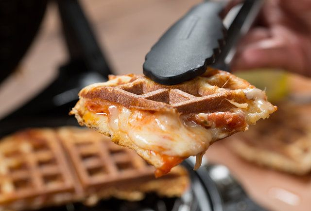 Pizza Waffles Mean Late-Night Brunch Now Exists