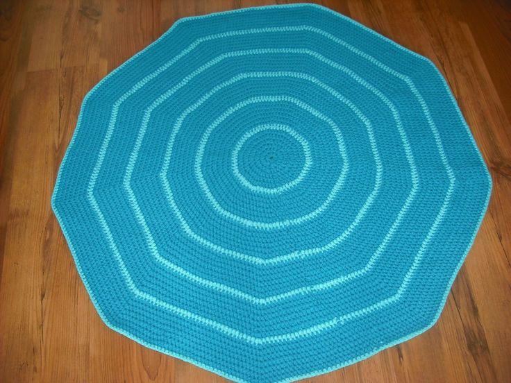 Błękitny dywanik